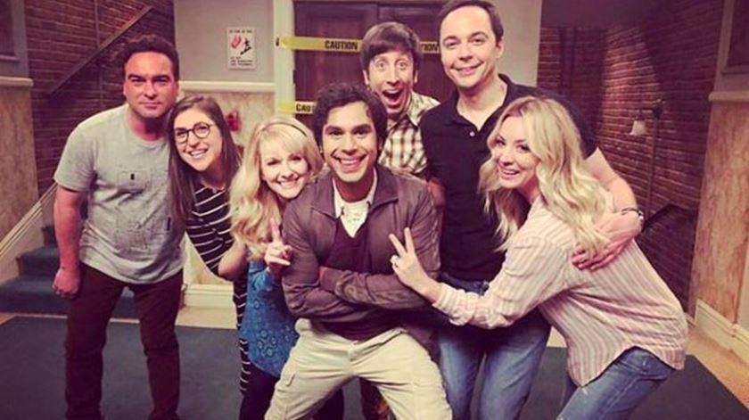 Big Bang Theory. Foto: Twitter