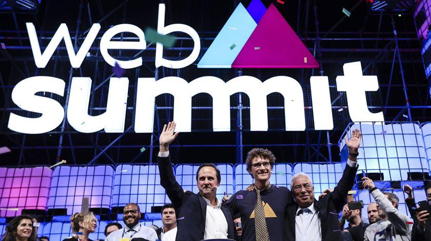 A inovação imparável e os avisos de um génio a abrir a Web Summit
