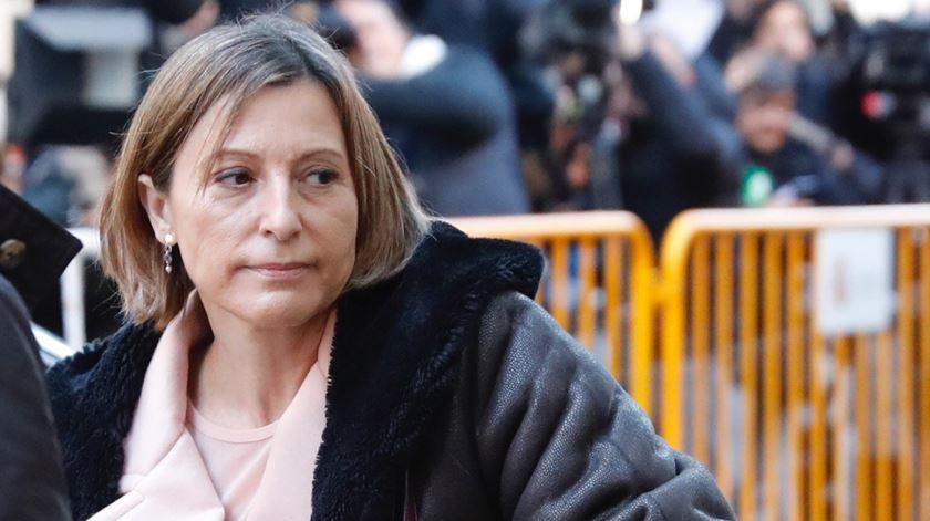 Presidente do parlamento catalão fica em liberdade quando pagar caução