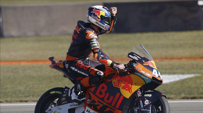 Moto2. Miguel Oliveira intratável nos ensaios em Austin