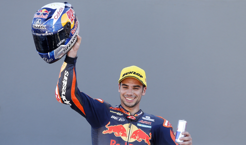 Miguel Oliveira segundo no Grande Prémio de Espanha de Moto2