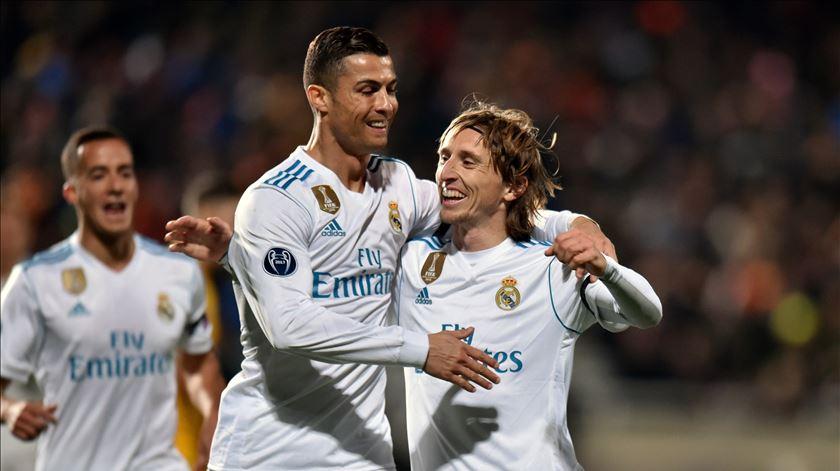 """Modric sobre Cristiano Ronaldo: """"Está muito acima"""""""