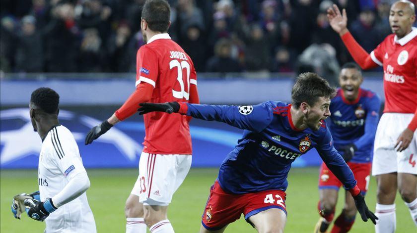 O jogo que ditou o fim do sonho europeu para o Benfica