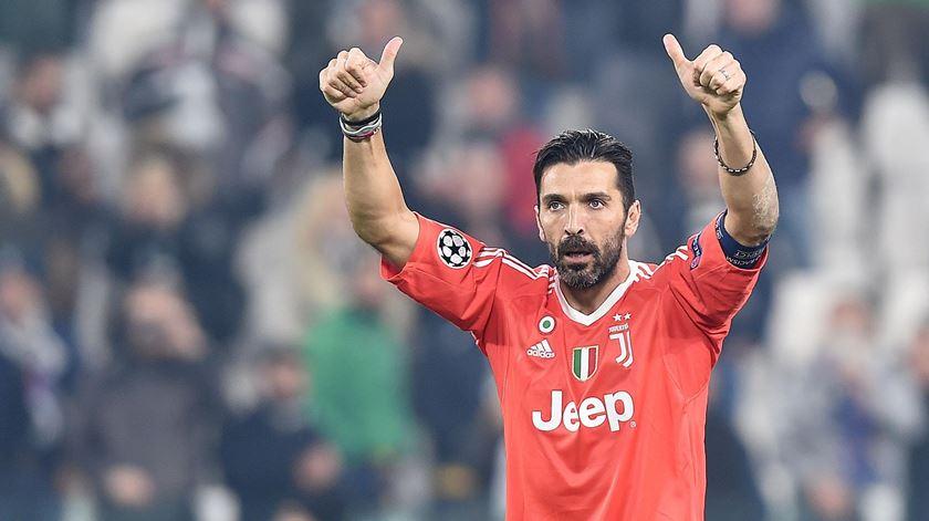 Buffon despede-se da Juventus. Foto: Alessandro Di Marco/EPA