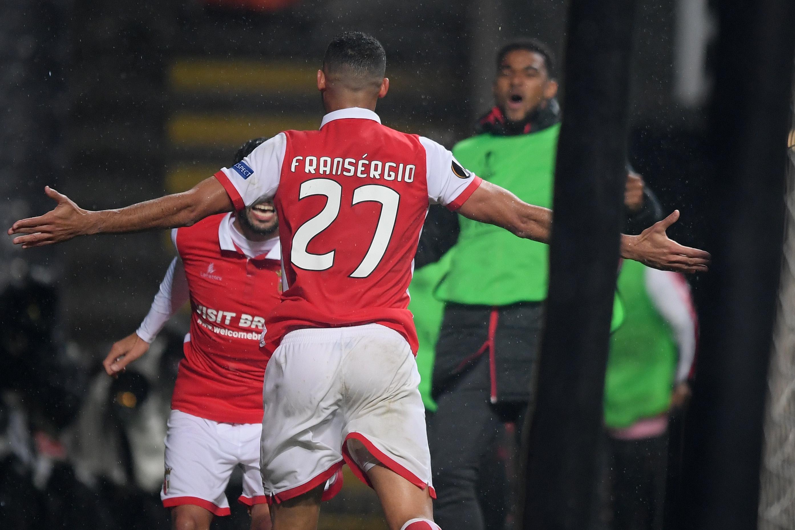 Liga Europa: Braga apurado para a próxima fase