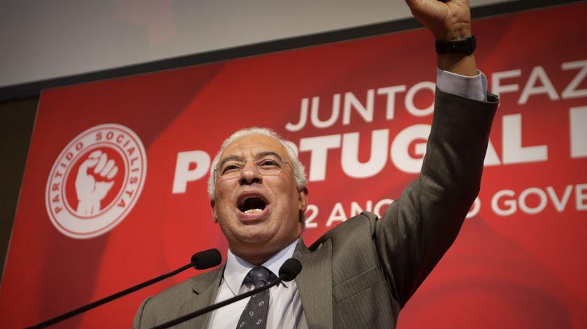 """António Costa: """"Posso estar momentaneamente cansado, mas isso em nada diminui as minhas ganas"""""""
