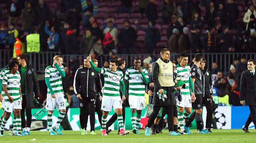 O relato do adeus do Sporting à Champions