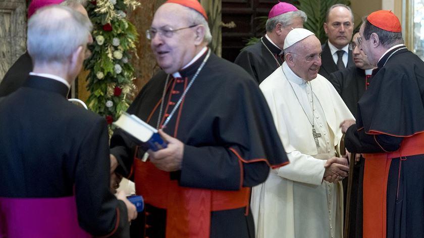 """Papa. """"Fazer reformas em Roma é como limpar a Esfinge do Egipto com uma escova de dentes"""""""