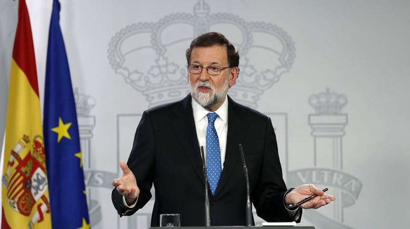 Mariano Rajoy ignora Puigdemont e aponta Arrimadas como parceira de diálogo