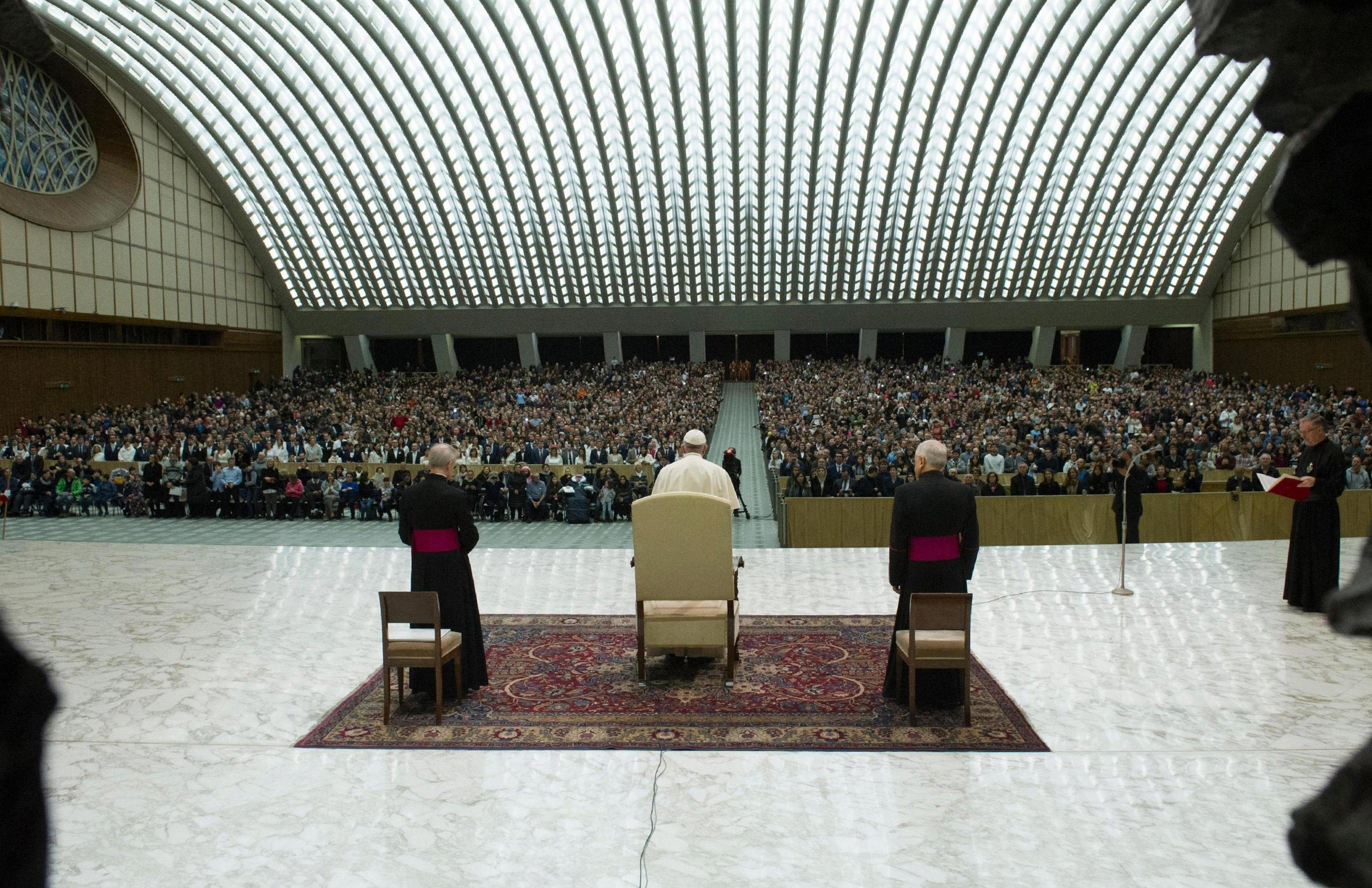 Papa defende imigrantes na primeira missa do ano