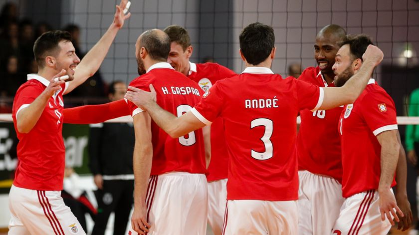 Voleibol. Benfica em vantagem na Taça Challenge