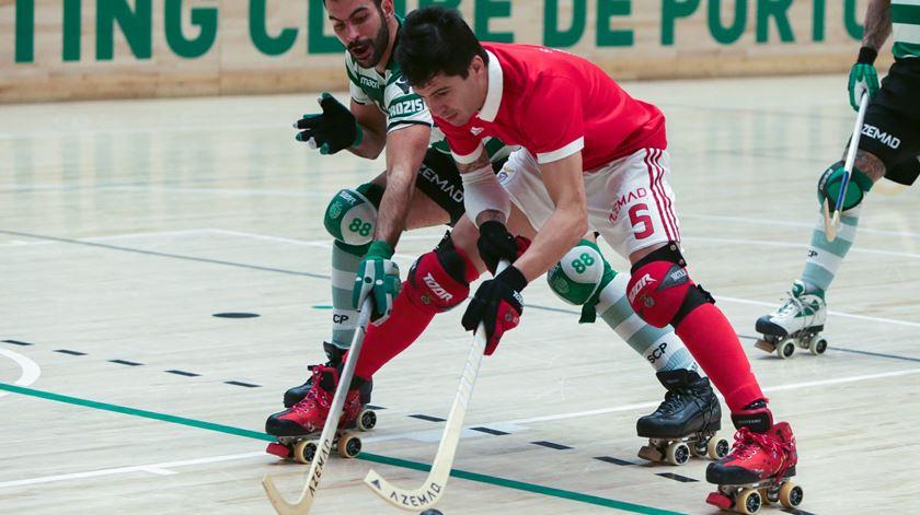 Nicolía garante que o título, perdido para o Sporting, é passado. Foto: Manuel de Almeida/Lusa