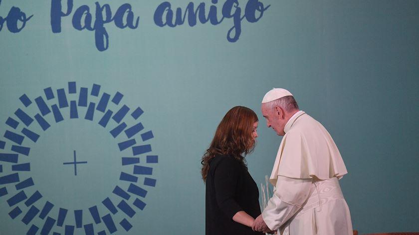 """Papa visita mulheres na prisão. """"Estão privadas de liberdade, mas não de dignidade"""""""