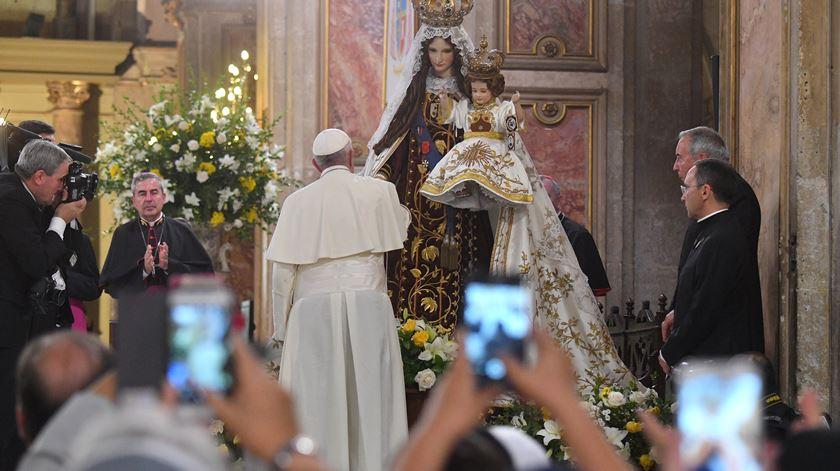 """Papa volta a referir a """"dor causada pelos abusos"""" e apela à Igreja que """"não esconda as chagas"""""""