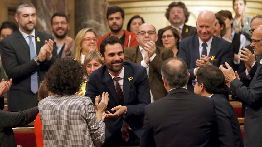 Parlamento da Catalunha tem novo presidente