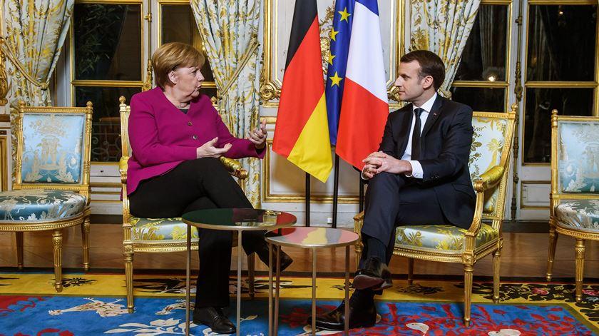Macron. França precisa da Alemanha para reforçar a Europa