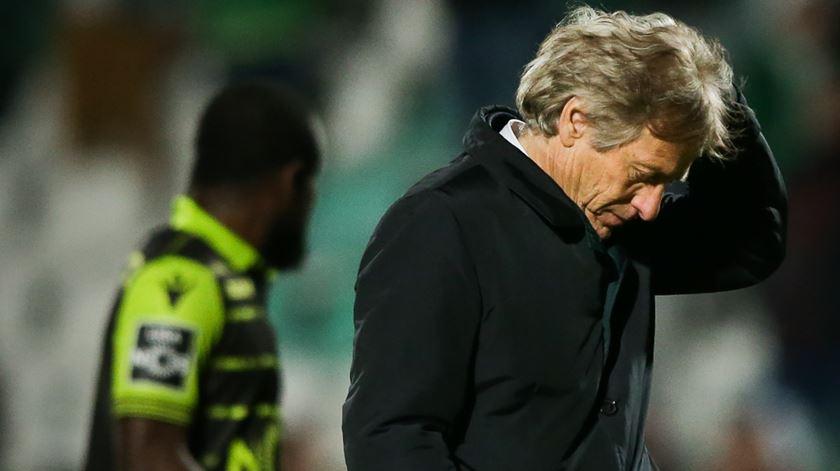 """Jorge Jesus lamenta segundo de desconcentração. """"O futebol é cruel"""""""