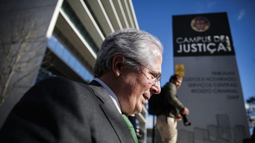 Orlando Figueira condenado a seis anos e oito meses de prisão. Foto: Mário Cruz/Lusa