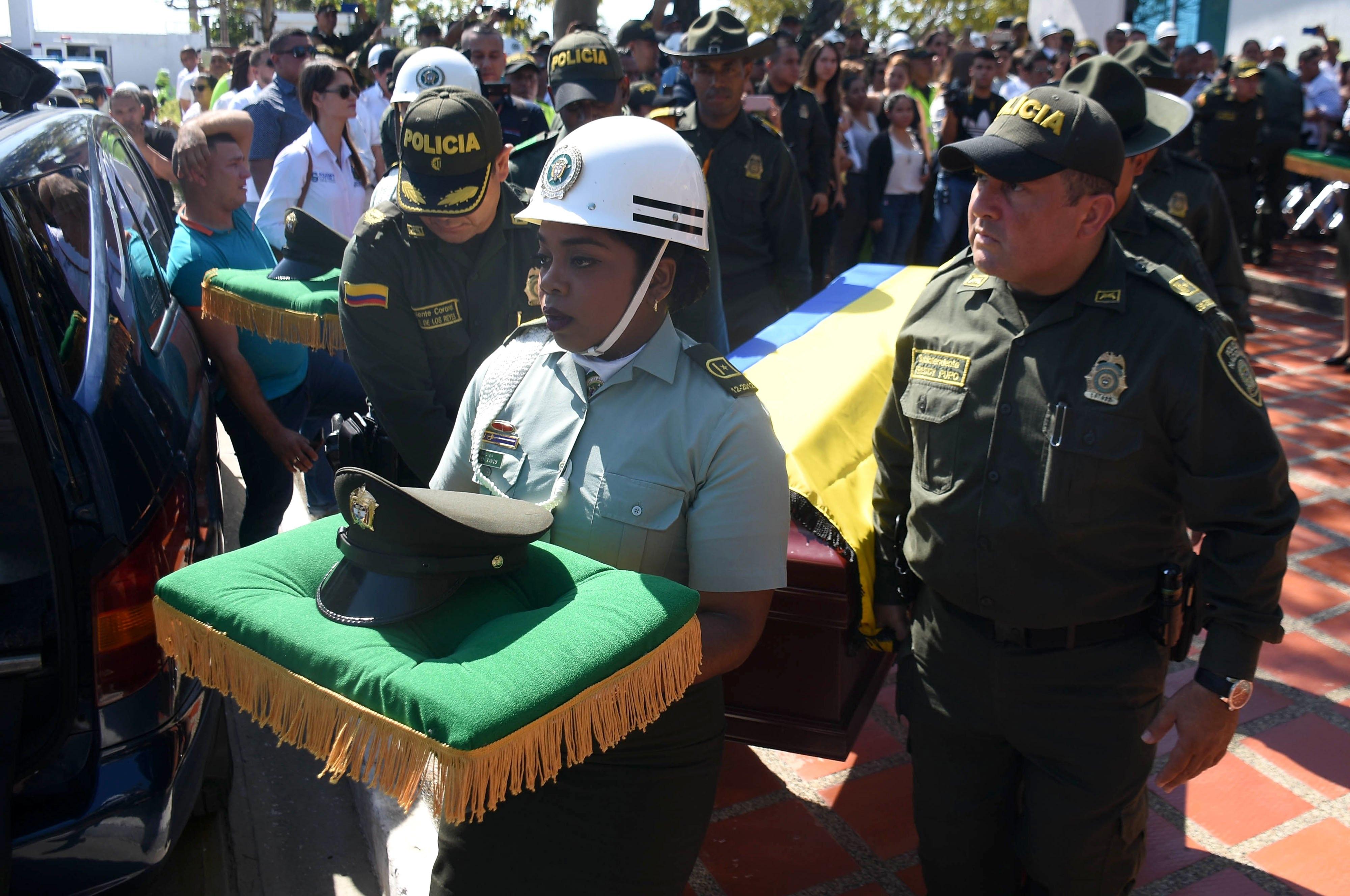 Ataques do narcotráfico deixam sete policiais mortos na Colômbia