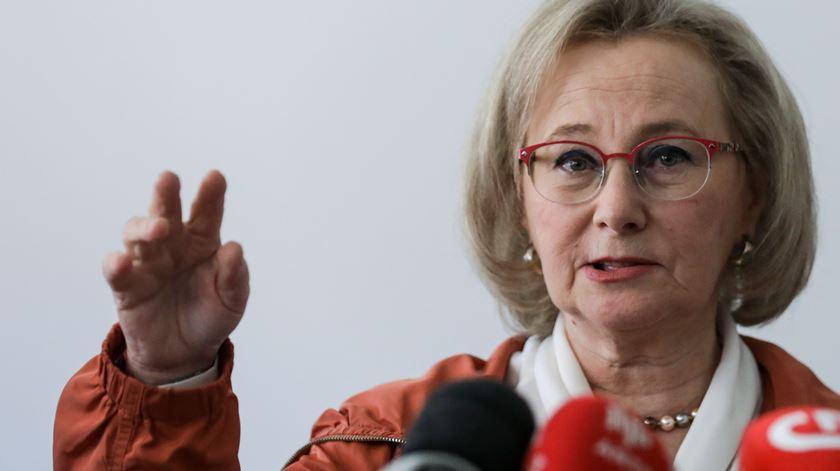 A directora-geral da Saúde, Graça Freitas. Foto: António Cotrim/Lusa