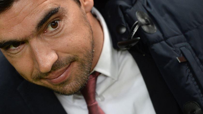 Abel Ferreira divulga eleitos para viagem a Marselha. Foto: Hugo Delgado/Lusa