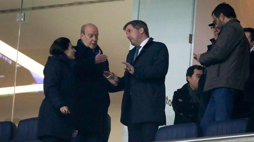 Pinto da Costa falou com Bruno, Ricciardi e Barroso