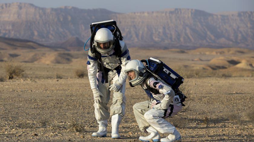 Como será viver em Marte? Seis investigadores fizeram uma simulação na Terra