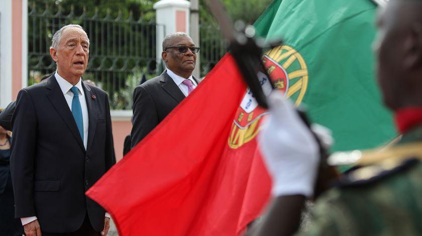 Marcelo em São Tomé e Príncipe com promessas de mais cooperação
