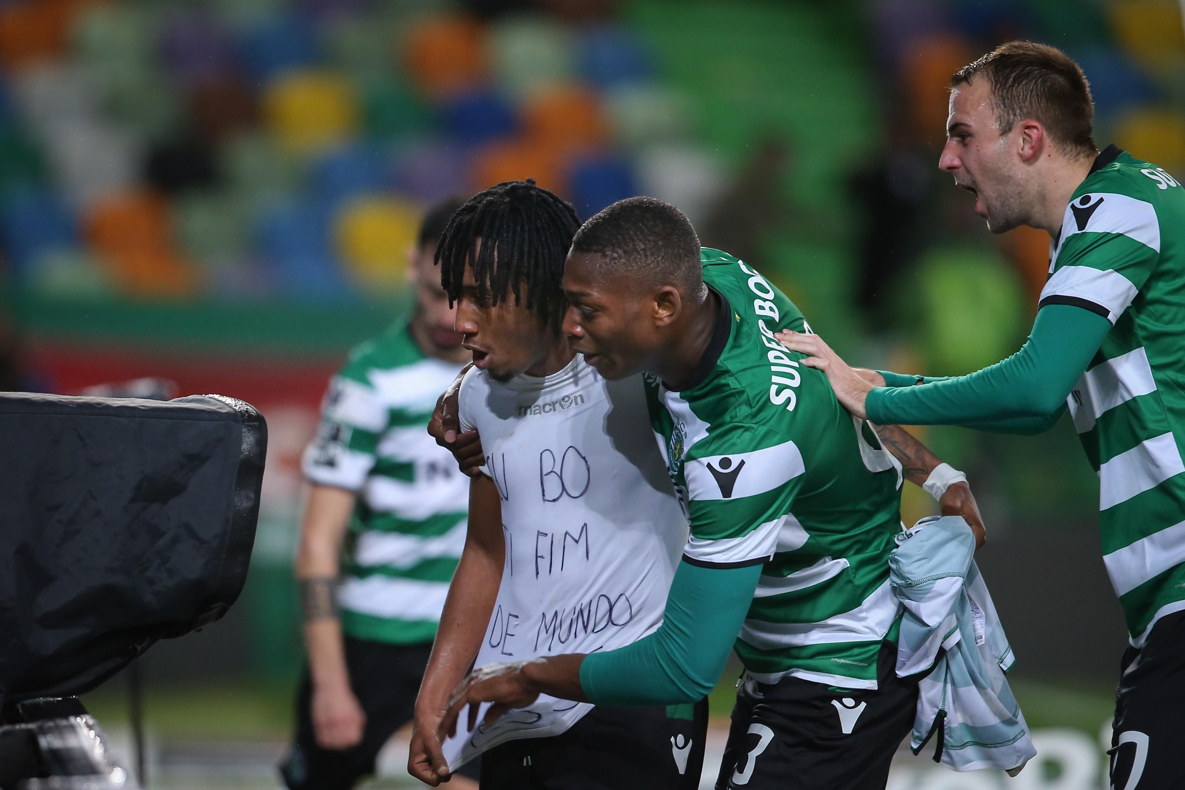 Sporting vence Moreirense com golo de Gelson no período de descontos