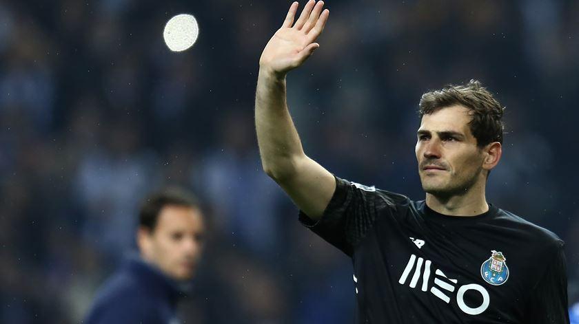Iker Casillas tem brilhado no FC Porto. Foto: Manuel Fernando Araújo/Lusa