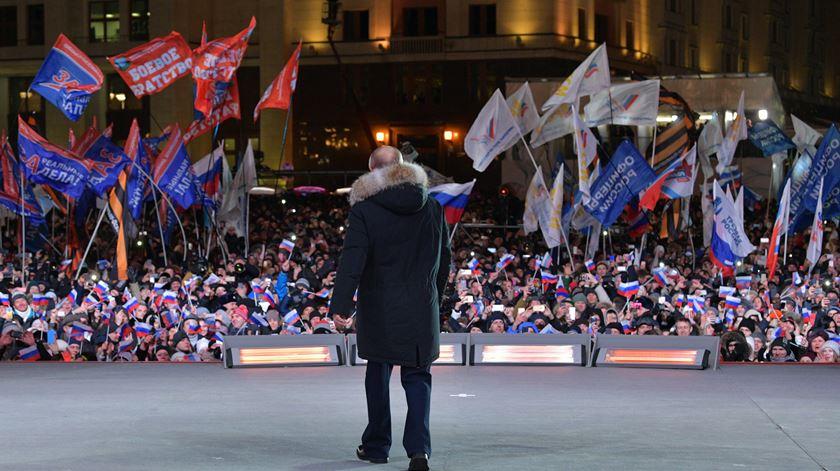 "Putin: ""O êxito espera-nos"""