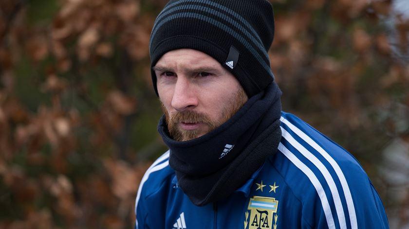 Messi considera que não terá outra oportunidade. Foto: Peter Powell/EPA