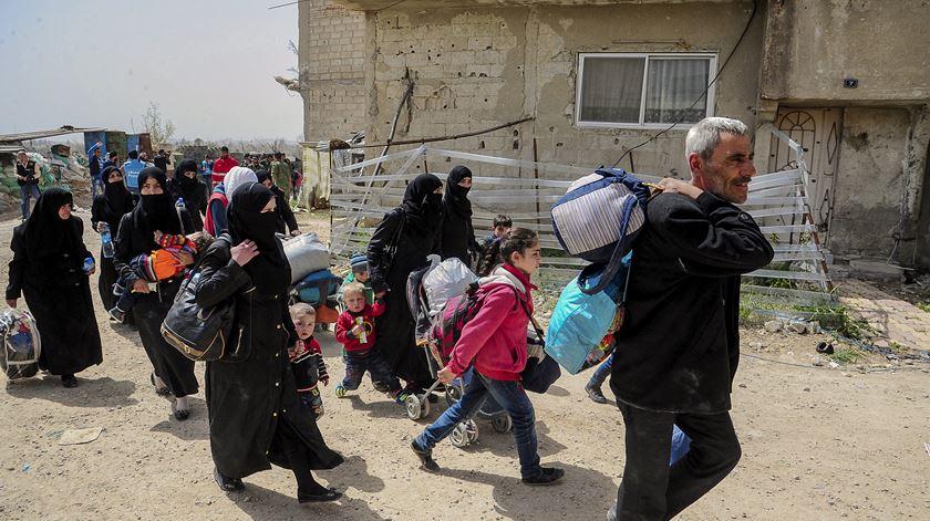 """Situação em Idlib é um """"pesadelo humanitário"""", alerta António Guterres"""
