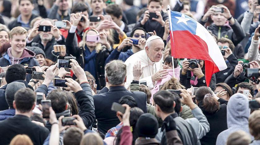 """Papa censura """"cristãos fingidos"""" que têm uma """"vida corrupta"""""""