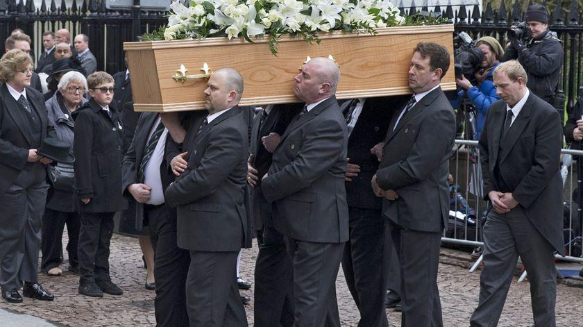 Funeral de Stephen Hawking. Foto: EPA/STR