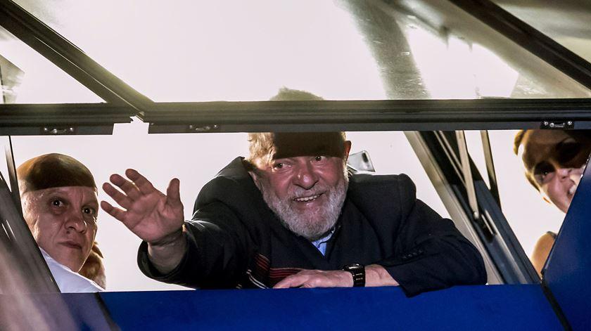 Lula não pode votar nas presidenciais brasileiras