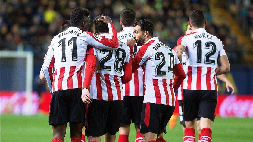 Atlético de Bilbau afunda Huesca e afasta-se do perigo