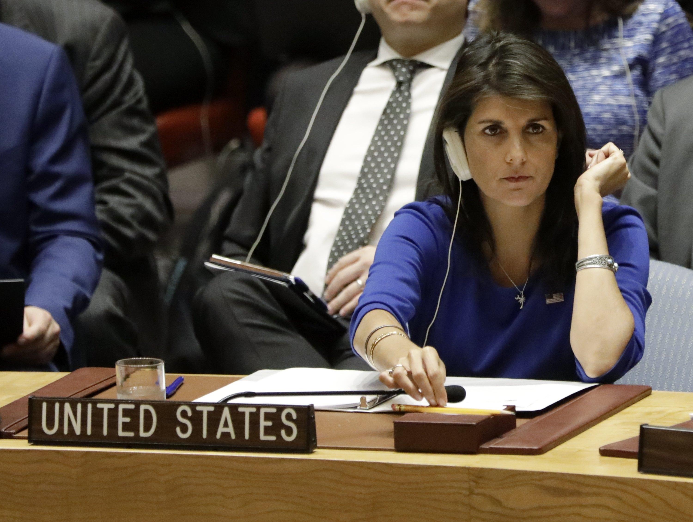 Embaixadora diz que EUA estão