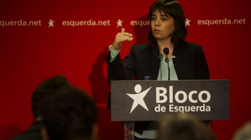 Catarina Martins diz que saúde precisa de caminho muito diferente do proposto pelo PSD
