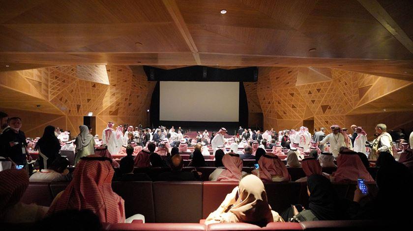 O cinema está de volta à Arábia Saudita