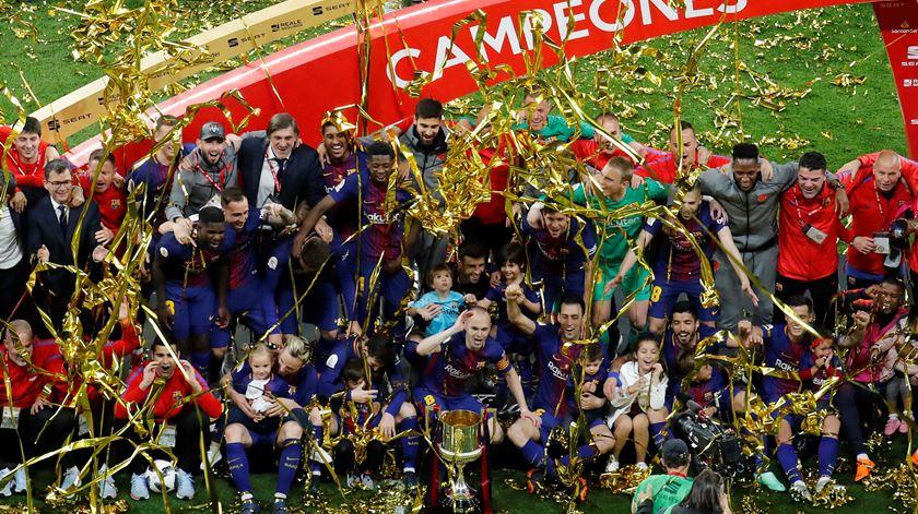 Espanha. Barça conquista Taça do Rei