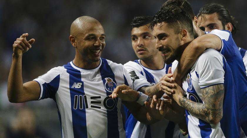Brahimi está feliz no FC Porto. Foto: José Coelho/Lusa