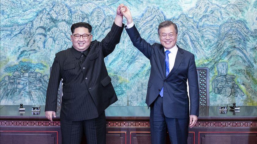"""Acordo entre Coreias """"tem um cheque por detrás"""", defende Seixas da Costa"""