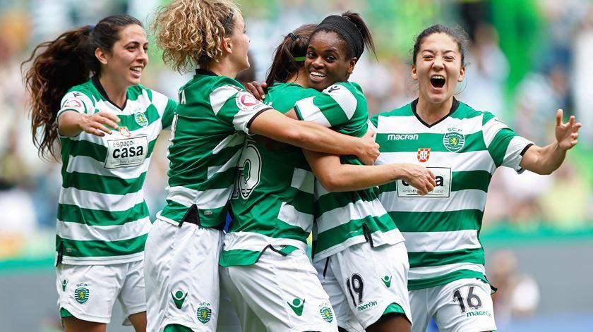 Sporting dá oito jogadoras à seleção. Foto: António Pedro Santos/Lusa