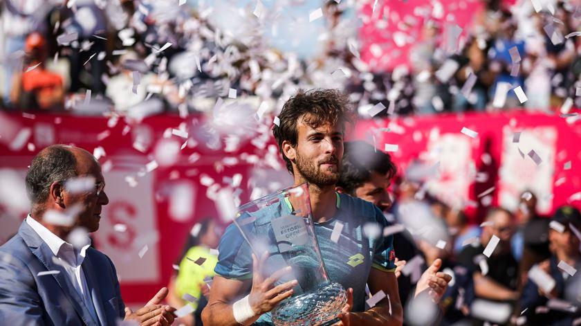 O dia em que João Sousa fez história no Estoril Open