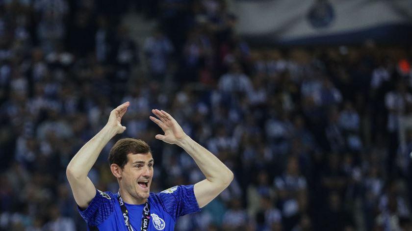 Casillas quer continuar no Dragão, mas também precisa de pensar no futuro. Foto: Manuel Fernando Araújo/Lusa