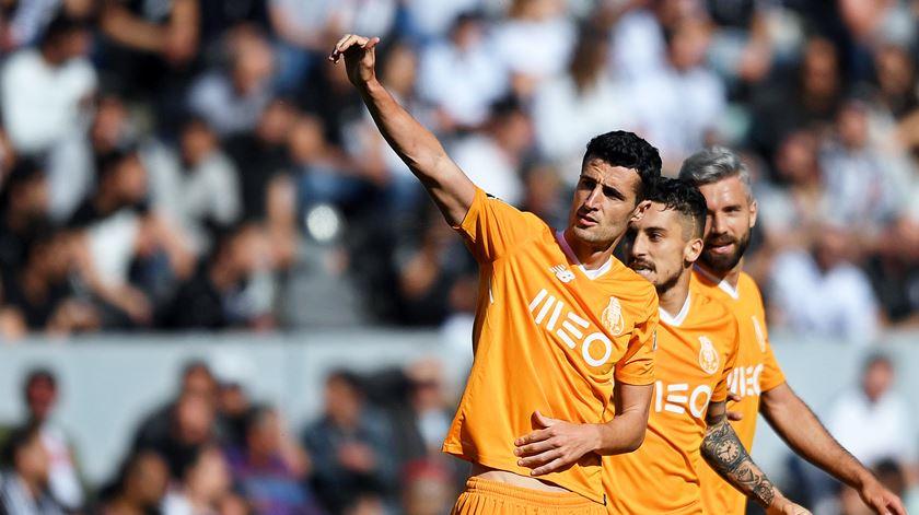 Marcano marcou o último golo do Porto, no campeonato. Foto: Hugo Delgado/EPA
