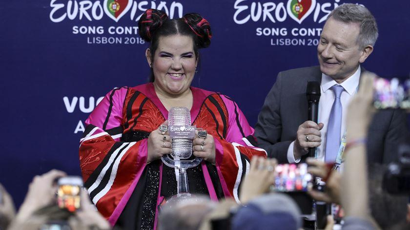 Eurovisão em 2019 vai ser em Telavive