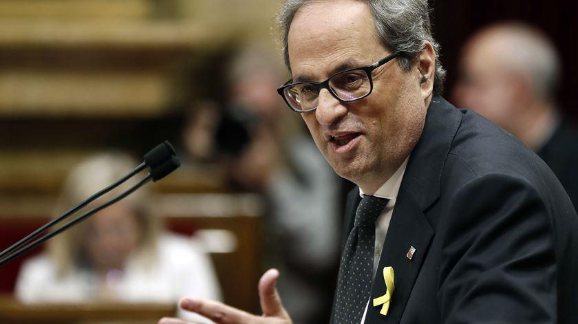 Presidente da Catalunha faz ultimato a Madrid