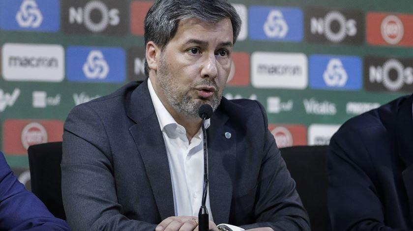 Bruno de Carvalho anunciou que não se demite. Foto: António Cotrim/Lusa